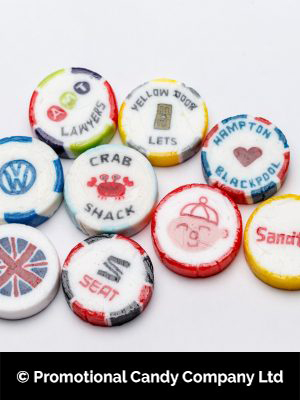 Logo Rock Sweets from Promotional Candy Ccompany, Blackpool.